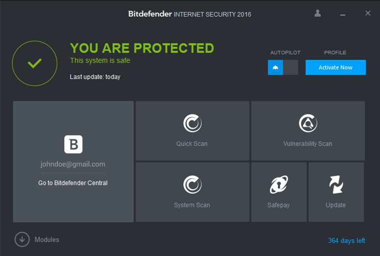 Bitdefender Internet Security Free Download 2016 Edition