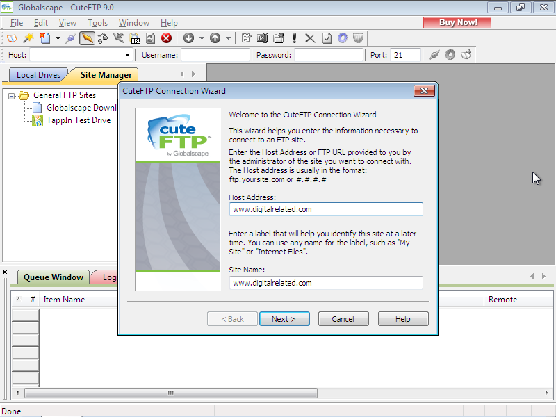 CuteFTP Free Download Full Version for Windows