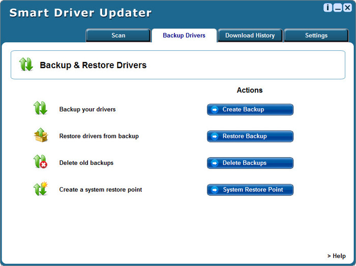 Download Smart Driver Updater standalone installer
