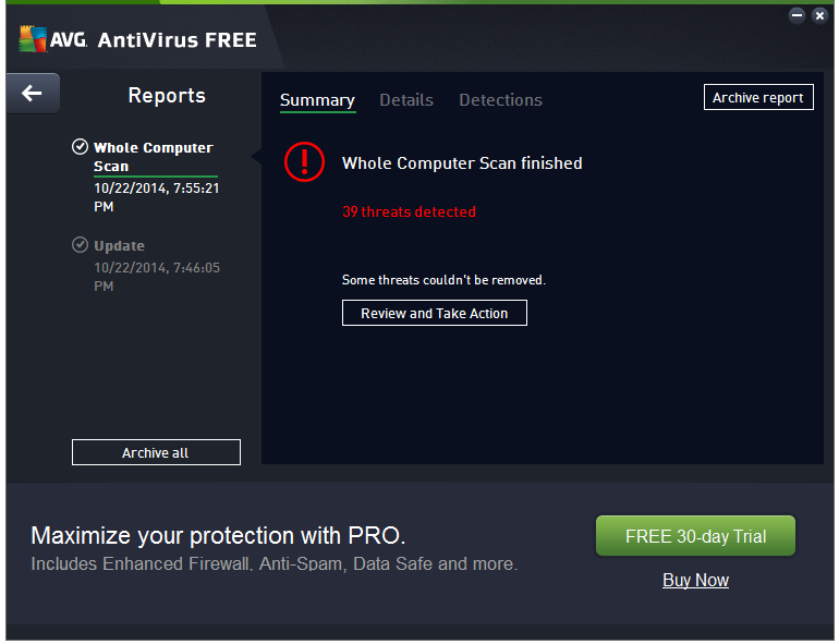 Free AVG AntiVirus download 2016