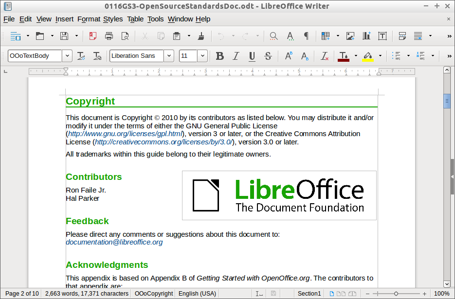 LibreOffice Free Download Latest Version