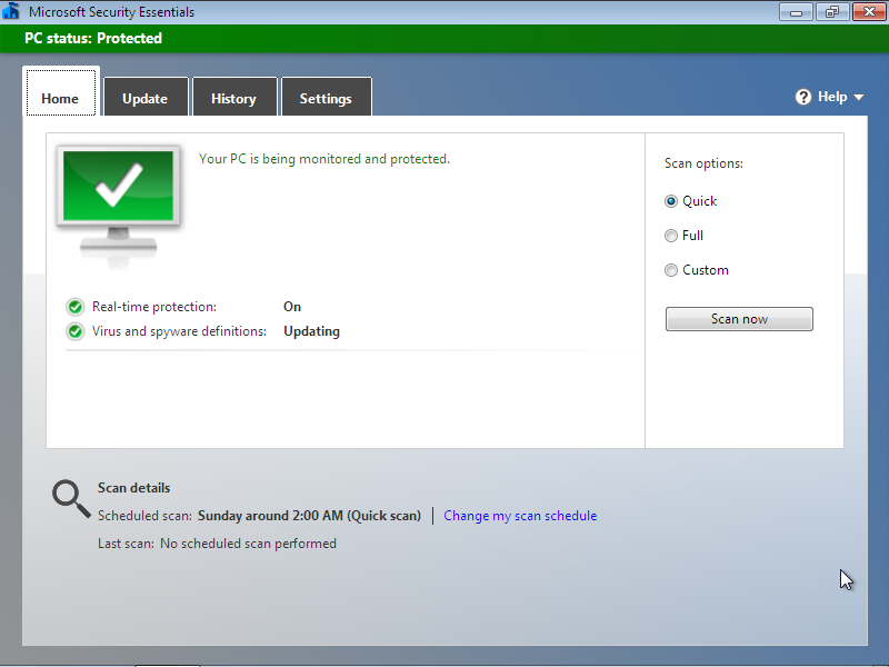 Microsoft Security Essentials Free Download Latest Version