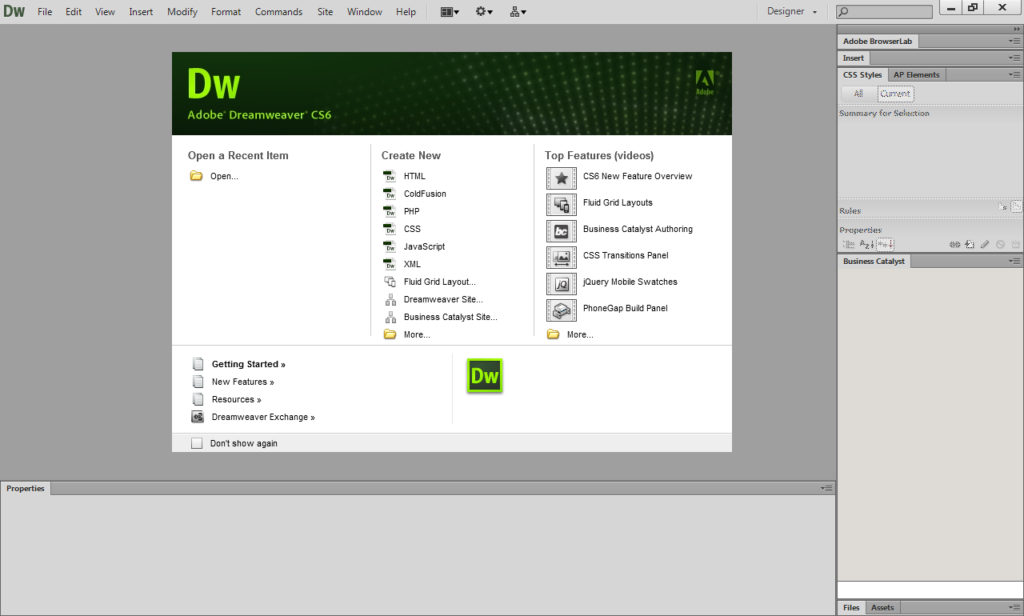 gratis adobe dreamweaver cs6 full version